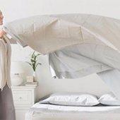 Поменять постельное белье